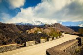 The house covered with ashes near Etna — Stock Photo