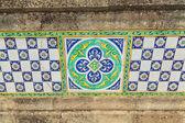 Outdoors decorative tile — Stock Photo