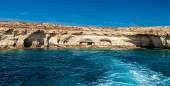 Famous sea caves near Ayia Napa — Stockfoto