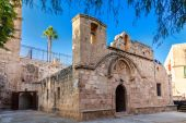Chapel in the yard of Ayia Napa Monastery — Stockfoto