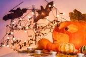 Halloween horrible pumpkin — Stock Photo