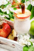 Apple smoothie — Stock Photo