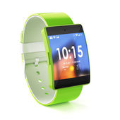 3d render of smart watch isolated on white background  — Stock Photo