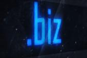Biz domain names — Stock Photo
