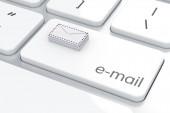 Koncepcja e-mail — Zdjęcie stockowe
