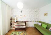婴儿的卧室 — 图库照片