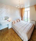 Interiores de dormitorio moderno — Foto de Stock