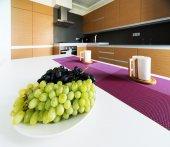 Wnętrze nowoczesna kuchnia — Zdjęcie stockowe