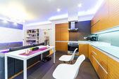 Interior of modern kitchen — Stock Photo