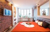Big modern Bedroom . — Stockfoto