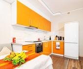 Modern big kitchen — Photo