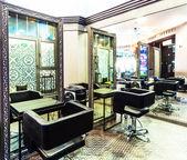 Interior of luxury beauty salon — Stock Photo