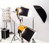 Studio light equipment. — Stock Photo