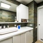 Beautiful Bathroom in Luxury flat. — Stock Photo #59507801