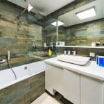 Beautiful Bathroom in Luxury flat. — Stock Photo #59507803