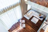 Big modern living room — Stock fotografie