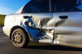 Detail of a broken car — Stock Photo