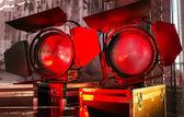 Cinematography spotlight equipment — Stock fotografie