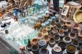 View of flea market — Stock Photo
