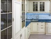 Interior of a kitchen in classical style — Stock Photo