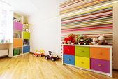 Kidsroom playroom — Stock Photo