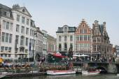 Tourism in Ghent — Stock Photo