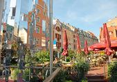 Latvian cafe — Zdjęcie stockowe