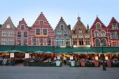 Lights in Bruges — Stock Photo