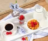 Chambres d'hôtes sur table — Photo