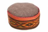 Skullcap with traditional Indian arnamentom — Stock Photo