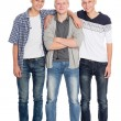 Tall young boys in full growth — Stock Photo #56435725
