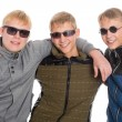 Three best friends in sunglasses — Stok fotoğraf #56448683