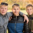 Portrait of a group of young boys — Stock Photo #56460313