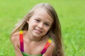 Wonderful girl seven years — Stock Photo