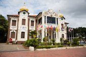 Proclamation of Independence Memorial is a museum in Malacca — Stock Photo
