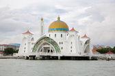 Malacca Straits Mosque, Malaysia — Stock Photo