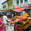 Ethnic district Little India in Singapore — Stock Photo #70752799