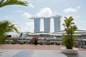 Marina Bay Sands in Singapore — Stock Photo