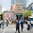 Ethnic district Little India in Singapore — Stock Photo #70816089