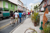 Ethnic district Little India in Singapore — Stock Photo