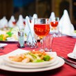 Festively served banquet table — Stock Photo #75073833