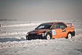Sprint ralli. Kazakistan. — Stok fotoğraf