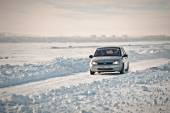 Rally sprint. Kazakhstan.  — Stock Photo