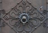Detail of an antique knocker — Stock fotografie
