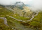 Carretera transfagarasan, cárpatos rumanos — Foto de Stock