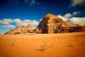 Wadi Rum desert, Jordan — Stock Photo