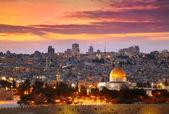 View of Jerusalem old city. Israel — Stock Photo