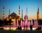 Sultan Ahmet Camii (Blue Mosque). Istanbul, Turkey — Stockfoto