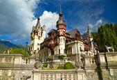 Pelesh castle, Romania — Stockfoto