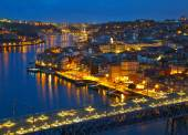 Citylights of Porto, Portugal — Fotografia Stock